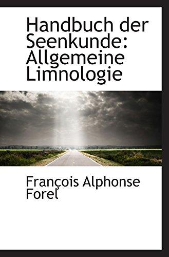 9781103486731: Handbuch der Seenkunde: Allgemeine Limnologie
