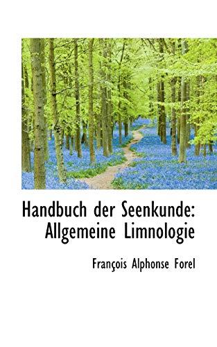 9781103486755: Handbuch der Seenkunde: Allgemeine Limnologie