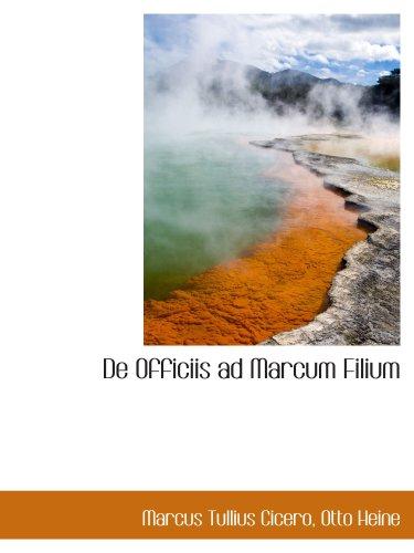 9781103487509: De Officiis ad Marcum Filium