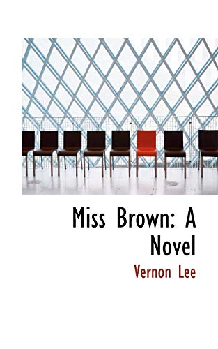 9781103510962: Miss Brown: A Novel