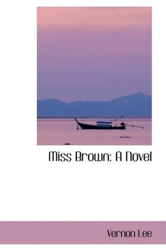 9781103510993: Miss Brown: A Novel
