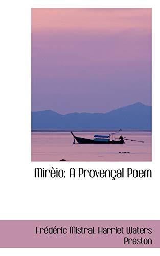 9781103512782: Mirèio: A Provençal Poem