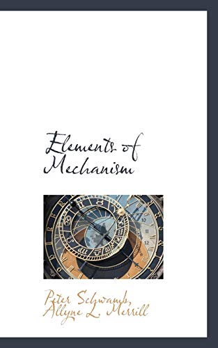 Elements Of Mechanism By Doughtie And James Pdf