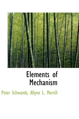 Elements of Mechanism: Peter Schwamb