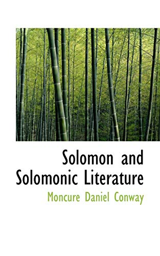 9781103517275: Solomon and Solomonic Literature