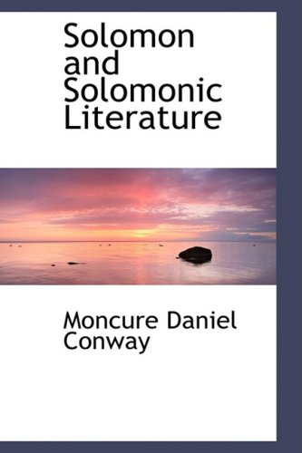 9781103517336: Solomon and Solomonic Literature