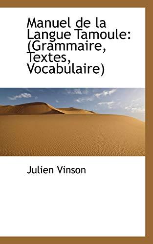 9781103537938: Manuel de La Langue Tamoule