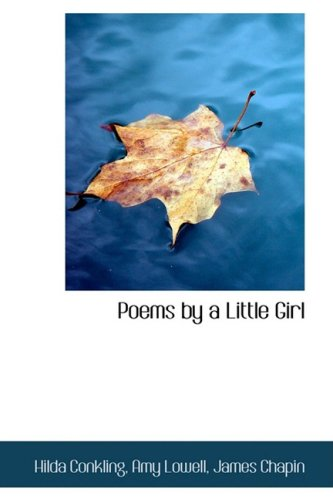 9781103539048: Poems by a Little Girl