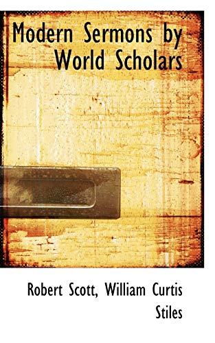 9781103553532: Modern Sermons by World Scholars