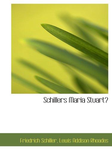 9781103558278: Schillers Maria Stuart