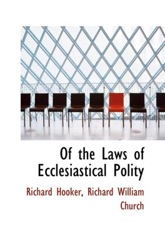 9781103567041: Of the Laws of Ecclesiastical Polity