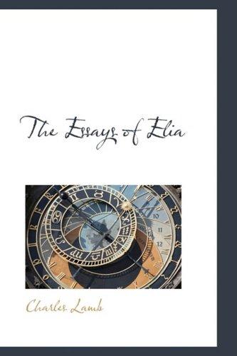 9781103575893: The Essays of Elia