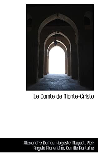 9781103583164: Le Comte de Monte-Cristo (French Edition)