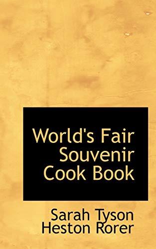 9781103610716: World's Fair Souvenir Cook Book