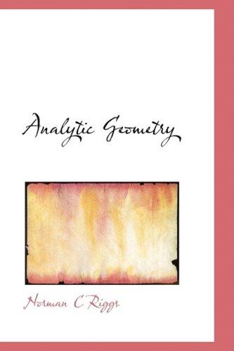 9781103666713: Analytic Geometry