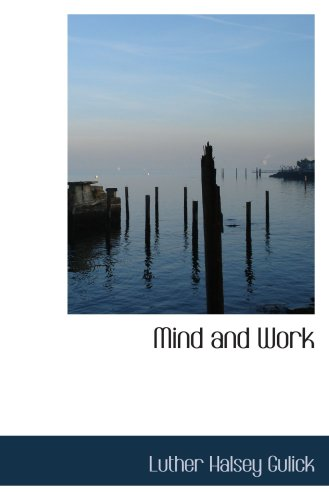 9781103672219: Mind and Work