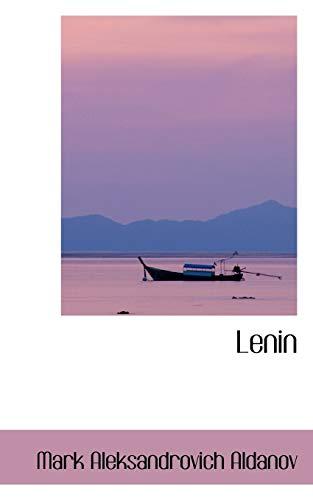Lenin (Paperback): Mark Aleksandrovich Aldanov