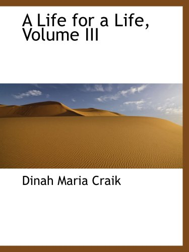 9781103719488: A Life for a Life, Volume III