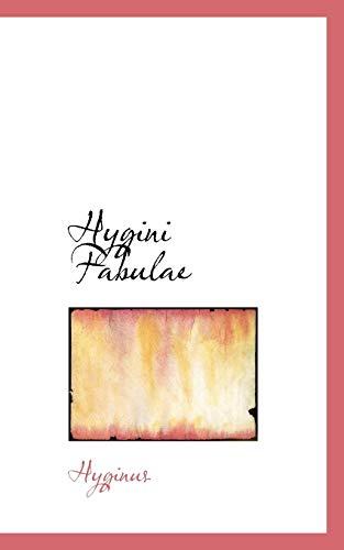 9781103749553: Hygini Fabulae
