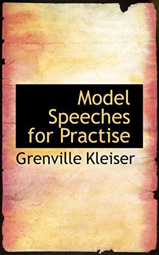 Model Speeches for Practise (1103754270) by Grenville Kleiser