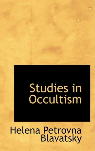 9781103758524: Studies in Occultism