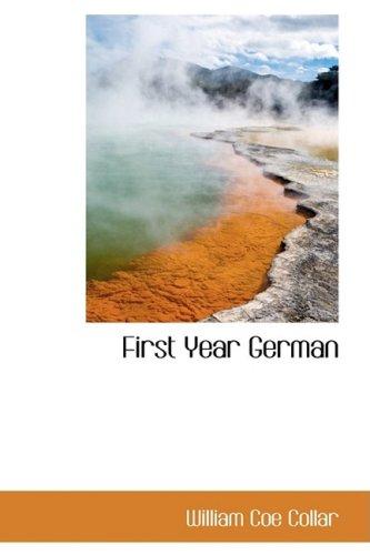 9781103811793: First Year German