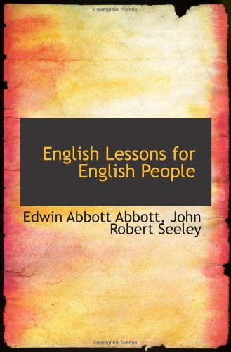 9781103813711: English Lessons for English People