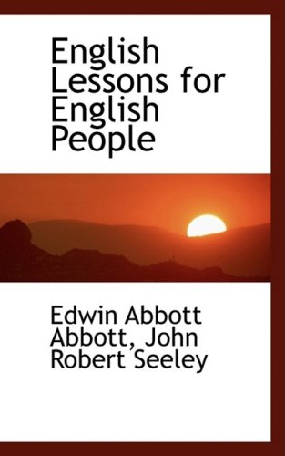 9781103813902: English Lessons for English People