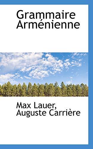 9781103825790: Grammaire Arménienne