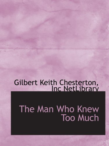 9781103838684: The Man Who Knew Too Much