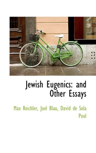 9781103874941: Jewish Eugenics: and Other Essays