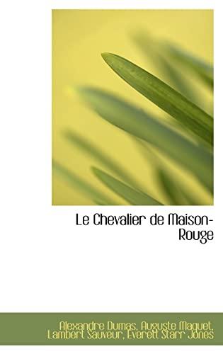 9781103885299: Le Chevalier De Maison-rouge