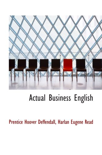 9781103885398: Actual Business English