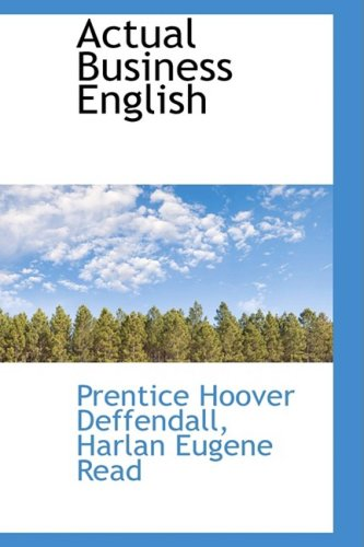 9781103885541: Actual Business English