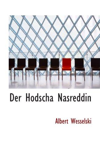 9781103944095: Der Hodscha Nasreddin