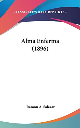 9781104007119: Alma Enferma (1896)
