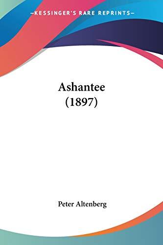 9781104036959: Ashantee (1897)