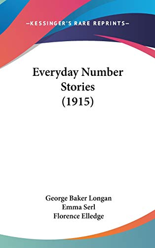 9781104062538: Everyday Number Stories (1915)