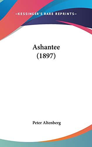 9781104066406: Ashantee (1897)
