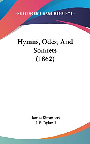 9781104203634: Hymns, Odes, And Sonnets (1862)