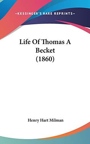 9781104278328: Life Of Thomas A Becket (1860)