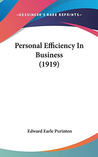 9781104284695: Personal Efficiency in Business