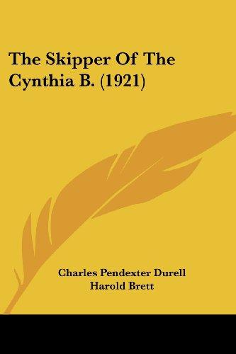 9781104329884: The Skipper of the Cynthia B.