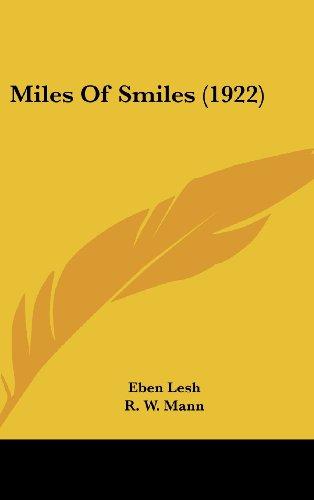 9781104332037: Miles of Smiles (1922)