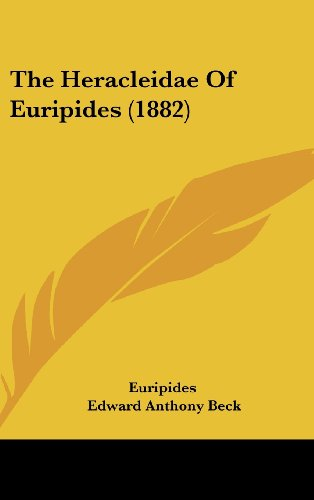 The Heracleidae Of Euripides (1882) (1104336502) by Euripides