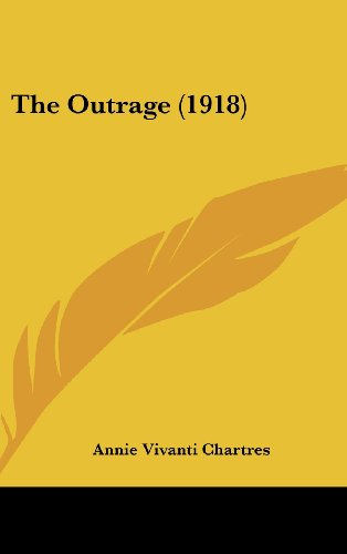 9781104344337: The Outrage (1918)