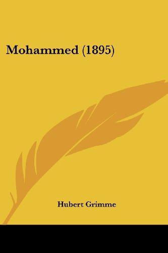 9781104357337: Mohammed (1895)