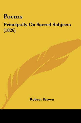 9781104364885: Poems: Principally On Sacred Subjects (1826)