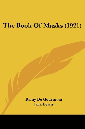 9781104383152: The Book of Masks (1921)