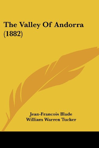 9781104406363: The Valley Of Andorra (1882)
